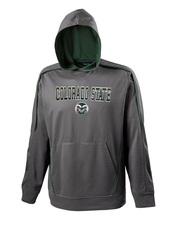 CSU Rams Grey & Green Boom Hoodie